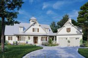 Farmhouse Style House Plan - 3 Beds 3 Baths 2456 Sq/Ft Plan #929-1116 Exterior - Front Elevation