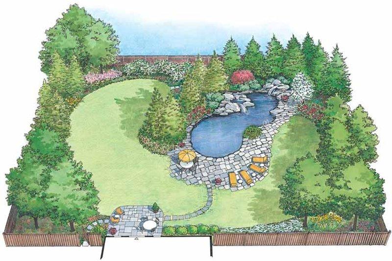 Exterior - Front Elevation Plan #1040-49 - Houseplans.com