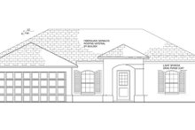 House Plan Design - Mediterranean Exterior - Front Elevation Plan #1058-32