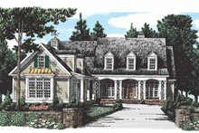 Country Exterior - Front Elevation Plan #927-275
