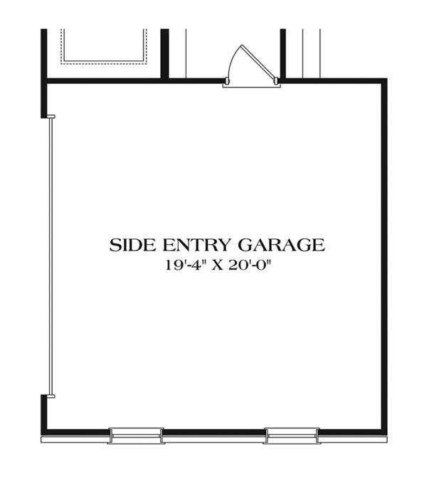 Ranch Floor Plan - Other Floor Plan Plan #453-632