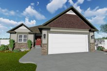 House Plan Design - Ranch Exterior - Front Elevation Plan #1060-42