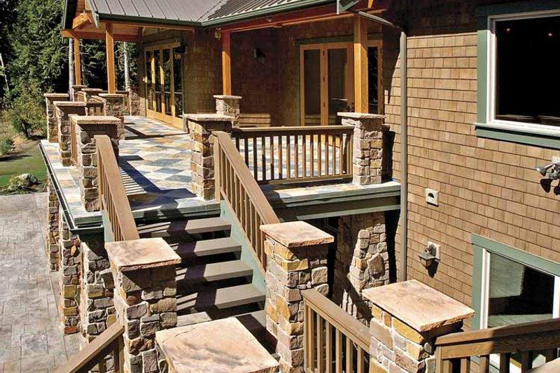 Contemporary Exterior - Outdoor Living Plan #951-2 - Houseplans.com