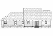 Craftsman Exterior - Rear Elevation Plan #21-267