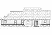 Dream House Plan - Craftsman Exterior - Rear Elevation Plan #21-267
