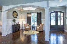 Home Plan - Ranch Interior - Entry Plan #929-1007