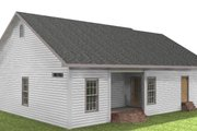 Country Style House Plan - 2 Beds 2 Baths 1301 Sq/Ft Plan #44-160 Exterior - Other Elevation