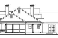 Traditional Exterior - Other Elevation Plan #124-576