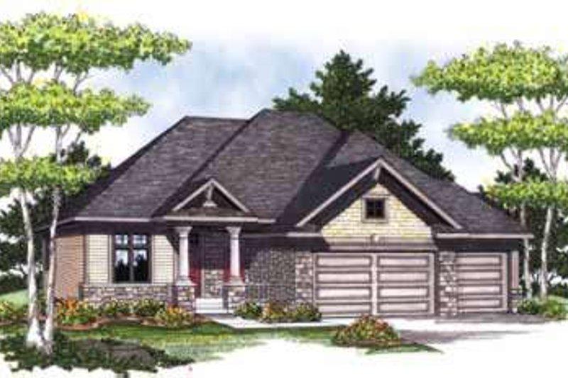 House Design - Craftsman Exterior - Front Elevation Plan #70-824
