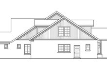 Home Plan - Craftsman Exterior - Other Elevation Plan #124-423