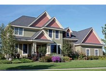 House Plan Design - Country Exterior - Front Elevation Plan #51-1114