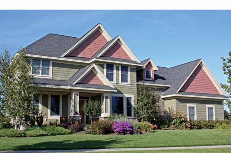 Country Exterior - Front Elevation Plan #51-1114 - Houseplans.com