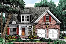 Country Exterior - Front Elevation Plan #927-730