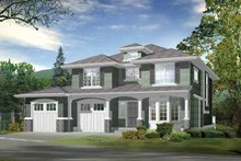 Home Plan - Craftsman Exterior - Front Elevation Plan #132-291