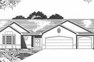 Traditional Exterior - Front Elevation Plan #58-137