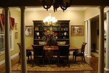 Dream House Plan - Country Interior - Dining Room Plan #927-653