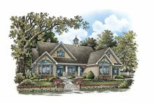 Home Plan - Ranch Exterior - Front Elevation Plan #929-858