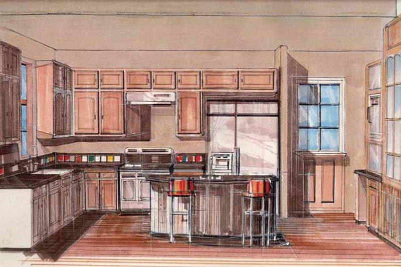 Prairie Interior - Kitchen Plan #509-416 - Houseplans.com