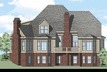 House Plan Design - European Exterior - Rear Elevation Plan #927-477