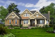 Craftsman Style House Plan - 2 Beds 2.5 Baths 2545 Sq/Ft Plan #132-230 Exterior - Front Elevation