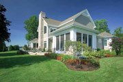 Craftsman Style House Plan - 4 Beds 3.5 Baths 4741 Sq/Ft Plan #928-188 Exterior - Other Elevation