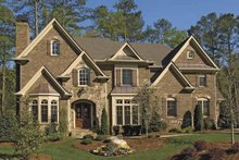 Architectural House Design - Traditional Exterior - Front Elevation Plan #54-329