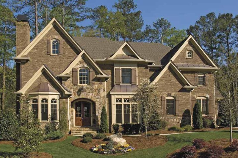 Home Plan - Traditional Exterior - Front Elevation Plan #54-329