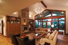 Contemporary Interior - Family Room Plan #1042-15