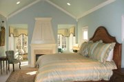 European Style House Plan - 2 Beds 2.5 Baths 2699 Sq/Ft Plan #928-190 Interior - Master Bedroom