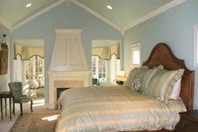 European Interior - Master Bedroom Plan #928-190