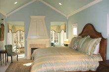 Dream House Plan - European Interior - Master Bedroom Plan #928-190