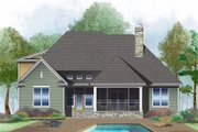 Ranch Style House Plan - 3 Beds 2 Baths 1800 Sq/Ft Plan #929-1012 Exterior - Rear Elevation