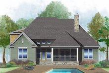 Dream House Plan - Ranch Exterior - Rear Elevation Plan #929-1012