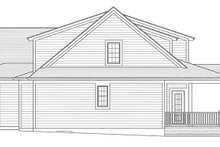 Architectural House Design - Colonial Exterior - Other Elevation Plan #46-864