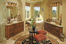 House Plan Design - Mediterranean Interior - Master Bathroom Plan #930-57