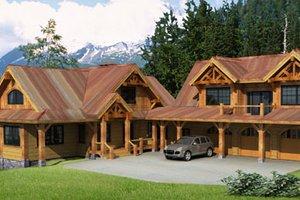 Craftsman Exterior - Front Elevation Plan #451-14