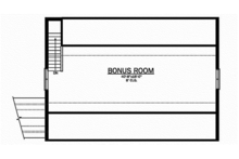 Craftsman Floor Plan - Other Floor Plan Plan #1058-79