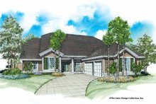 Country Exterior - Front Elevation Plan #930-26