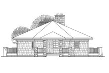 Craftsman Exterior - Front Elevation Plan #124-186