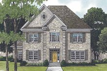 House Plan Design - Traditional Exterior - Front Elevation Plan #453-549