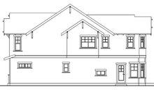 Architectural House Design - Craftsman Exterior - Other Elevation Plan #124-556