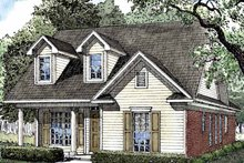 Ranch Exterior - Front Elevation Plan #17-3114