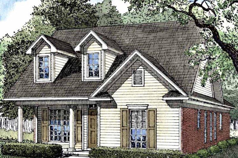 Ranch Exterior - Front Elevation Plan #17-3114 - Houseplans.com