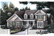 House Plan Design - Country Exterior - Front Elevation Plan #927-657