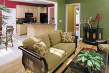 House Design - Country Interior - Family Room Plan #929-672