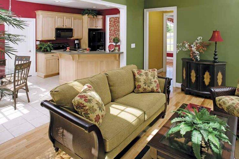 Country Interior - Family Room Plan #929-672 - Houseplans.com