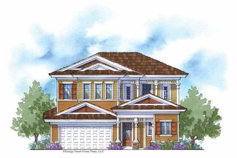 House Plan Design - Country Exterior - Front Elevation Plan #938-6