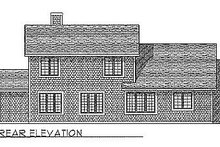 Traditional Exterior - Rear Elevation Plan #70-312