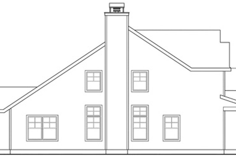 Craftsman Exterior - Other Elevation Plan #124-845 - Houseplans.com