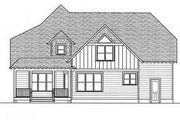 Craftsman Style House Plan - 4 Beds 3 Baths 3134 Sq/Ft Plan #413-102 Exterior - Rear Elevation